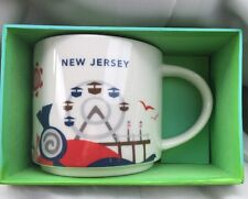 Starbucks New Jersey Coffee Mug 14 oz You are Here Collection New in Box