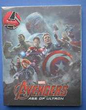 Avengers Age of Ultron Steelbook Bluray 3D Novamedia Lenticular Cover New