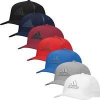Adidas TaylorMade 2017 Tour Delta Flex-Fit Textured Hat Mens Stretch Golf Cap