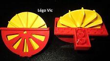 Lego Fabuland 4789 4788 Roue x2 de Bateau à aubes Paddle-Wheeler Wheel du 3673