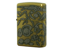 ZIPPO Fossel Party / Brass / RARE model from JAPAN !