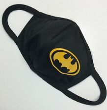 Face mask DRI-FIT 100% polyester, black, double layer, customized (Batman)