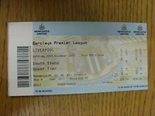 24/11/2007 Ticket: Newcastle United v Liverpool  (complete). Thanks for viewing