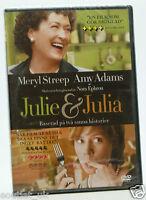 Julie & JULIA DVD Región 2 Nuevo Sellado MERYL STREEP AMY ADAMS