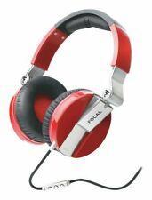 NEW FOCAL SPIRIT ONE DYNAMIC CLOSED HEADPHONES WITH REMOTE - RED