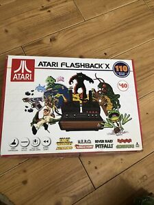 Atari Flashback X Deluxe Retro Console 110 Built-in Games - 2 Wired Controllers