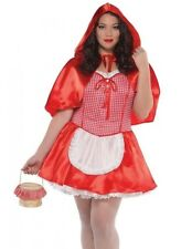 Sexy Red Riding Hood Costume Ridinghood Womens Adult - Plus Size 2XL XXL 18-20