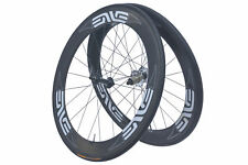 ENVE Classic 65 PowerTap Road Bike Wheel Set 700c Carbon Tubular Shimano 10s
