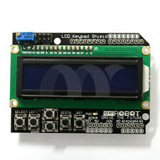 SainSmart 1602 LCD Keypad Shield for Arduino Duemilanove UNO MEGA2560 US STOCK