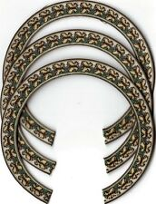 THREE, UKULELE ROSETTES, (Soprano)  INLAY, SOUND HOLE 411-S-3