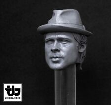 BRAD PITT (GYPSY),SNATCH,1/6 HEAD SCULPT,HOT TOYS,WORLDBOX,BODY FIGURE,NEW