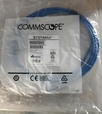 LOF OF 20 Commscope Systimax Cat6 10ft Patch Cord Blue GS8E-BL CPC3312-0ZF010
