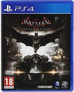 Batman Arkham Knight Ps4 Game Fast Postage