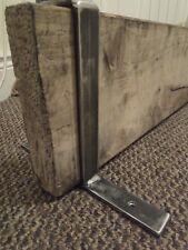 2 x Industrial slip on design scaffold shelf brackets