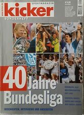Kicker - Sonderheft - 40 Jahre Bundesliga