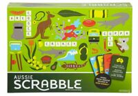 SCRABBLE AUSSIE GAME FGR65 ~ NEW SEALEDBOARD GAME AUSSIE SLANG ACTION CARDS