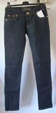 Original jeans JOLINA bleu & doré  taille 38 FR   neuf