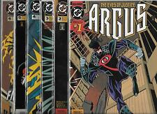 ARGUS #1-#4 SET (NM-) DC COMICS