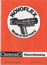 Novoflex Gesamtkatalog vom 1.1.1982