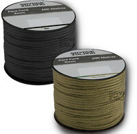 10 x 100m 3mm Reel Army Military Paracord Tent Bivi Camping Guy Rope Para Cord