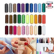 30 Colors 250 Yards Polyester Sewing Thread Spools For Sewing Machine Line DIY
