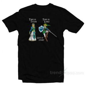 Zelga And Luigi T-Shirt