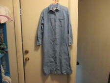 vintage woman's denim dress (could be used as a coat)