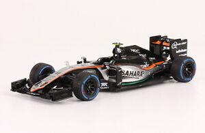 Force India VJM09 2016 Sergio Perez Rare Formula 1 F1 Diecast Car 1:43+ Magazine