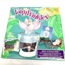 Very Rare! With Box! Vintage Fairy Winkles 1993 Kenner Peek 'N Petals Posy