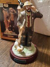 Emmett Kelly Hunter Figurine With Box 9601