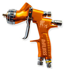 Devilbiss Pistola Gti Pro Hvlp Spray Gun Gravity Feed Paint Gun 13mm Nozzle