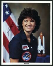 Sally Ride Nasa Astronaut Space Shuttle 1St American Woman In Space Challenger