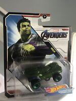 Hot Wheels Character Cars Marvel Avengers Hulk