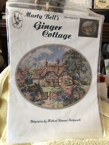 Vintage 1990 Marty Bell's Ginger Cottage Cross Stitch Chart
