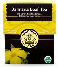 Damiana Tea by Buddha Teas, 18 tea bag 1 pack