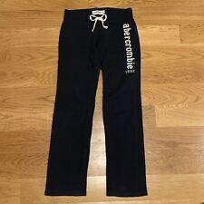 Abercrombie & Fitch Kids Girls Navy Blue Jogger Sweatpants Pants Lounge Large L