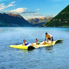 "3-Layer Floating Island Water Pad 101x69.5"" Sports Foam Mat Float Beach Utility"