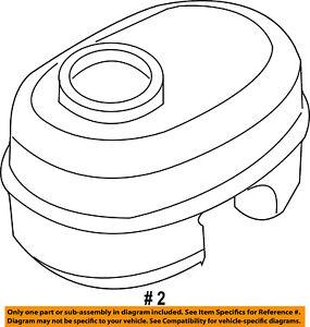CHRYSLER OEM-Brake Master Cylinder Reservoir 5093408AA