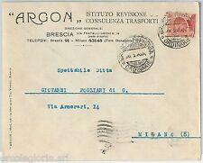 63987 - ITALIA REGNO - STORIA POSTALE:  BUSTA PUBBLICITARIA Brescia   1925