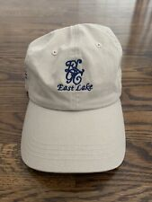 New listing East Lake Golf Club Adjustable Khaki Baseball Cap/Hat