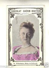Boutron Chromo Guérin - 36 - Wilhelmine, Regina della Olanda ( i 5550)