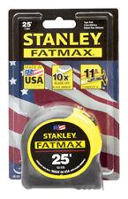 Stanley FatMax  Tape Rule  1-1/4 in. W x 25 ft. L