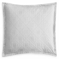 Sky Home Tile Matelesse 100% Cotton Pillow Sham Pair - Euro - White