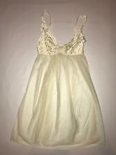 Underella babydoll lingerie by Ella Moss in Bridal Ivory Buttercup S NWT $88