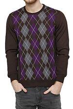 Herren-Pullover & -Strickware aus Wolle ohne Verschluss mit Norweger-Muster