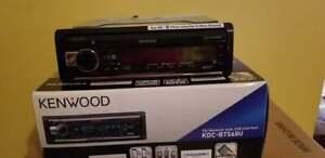 Kenwood KDC BT568U Dual phone connection  music mix  New!!
