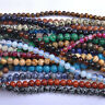 Wholesale Natural Gemstone Round Spacer Loose Beads 4MM 6MM 8MM 10MM Lot DIY