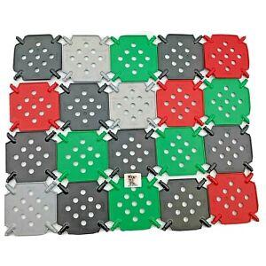 20 Knex Square Panel Base Assortment - Standard K'nex Parts Lot