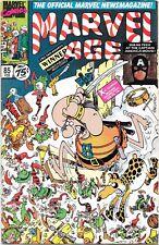 1990 Feb. Marvel Comics #85 Marvel Age.