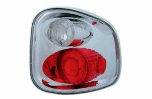 IPCW CWT-CE501FC Pair of Crystal Clear Euro Tail Lights for 97-03 F150/F250